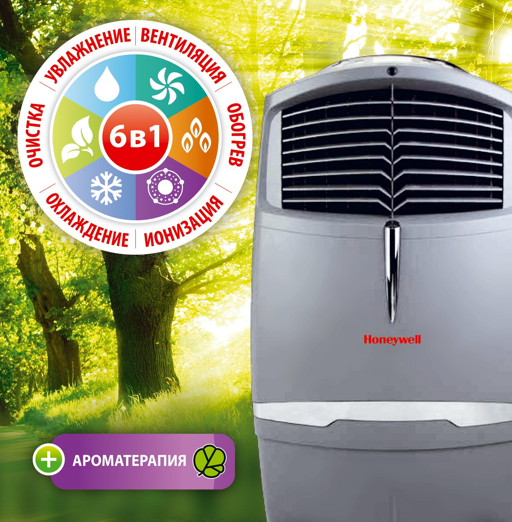 Климатический комплекс CHL30XC увлажнение, очистка, охлаждение, обогрев, ионизация