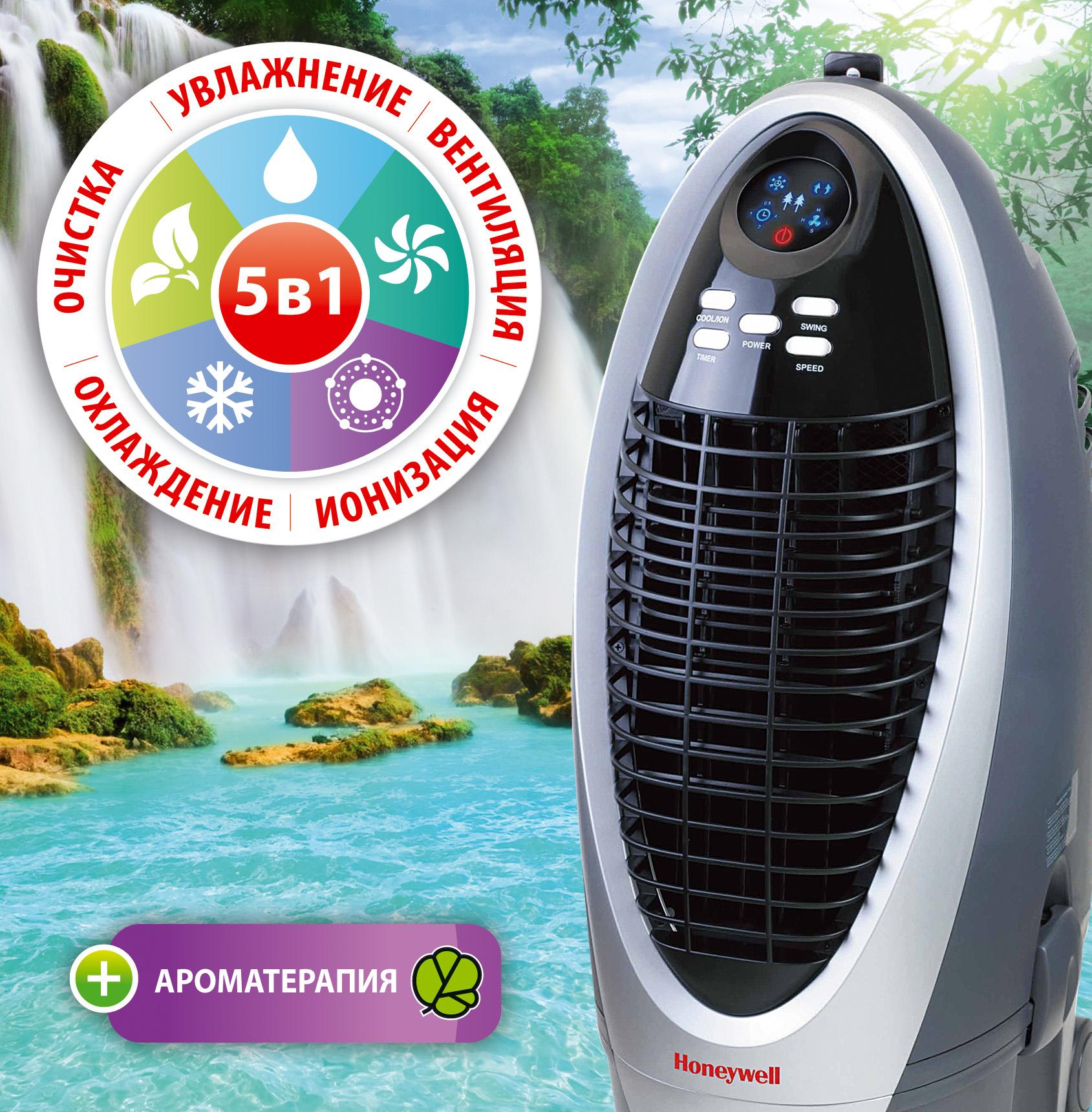 Климатический комплекс CS10XE увлажнение, очистка, охлаждение, ионизатор воздуха