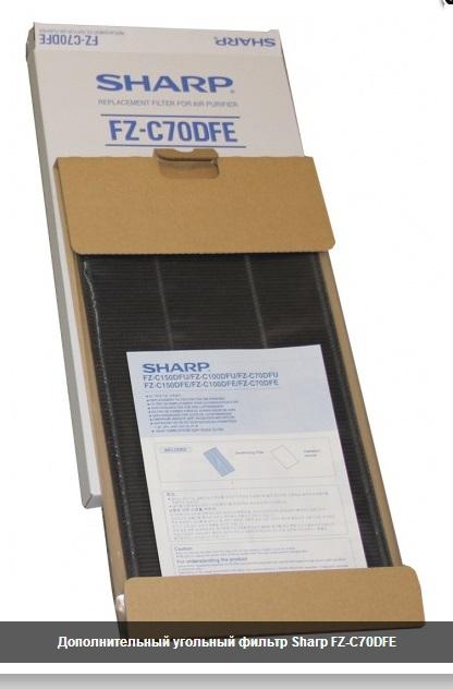 FZ-C70DFE для KC-840 угольный фильтр