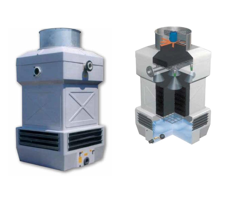 Градирни для охлаждения воды производительностью от 49,53 до 1084,88 кВт