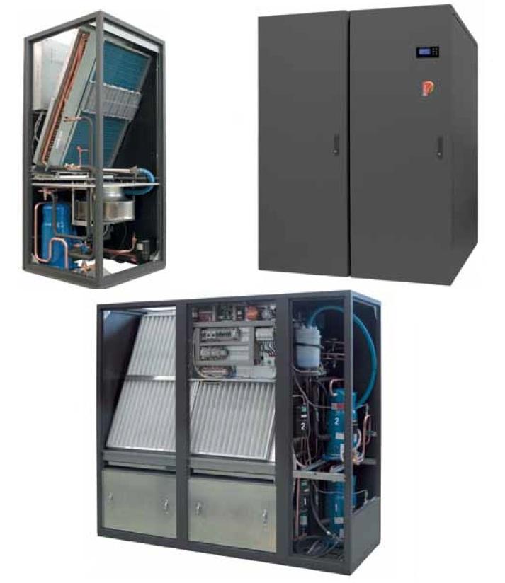 Прецизионные кондиционеры с раздачей воздуха вниз и вверх от 7 до 200 кВт