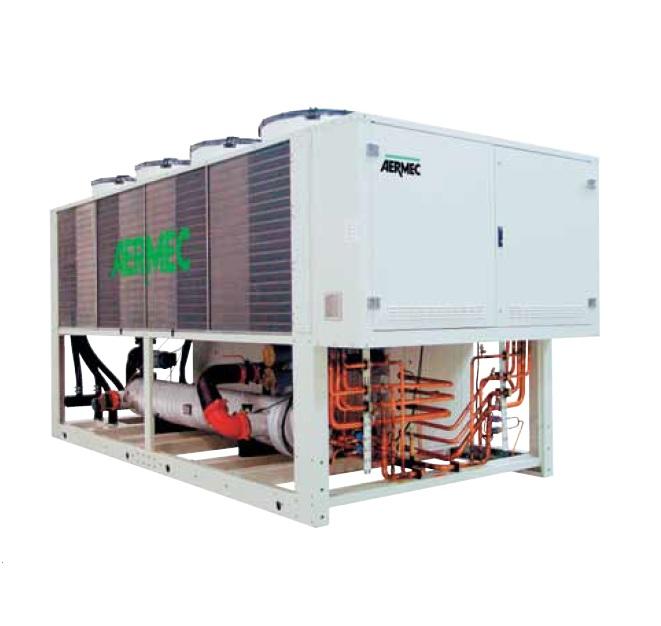 NS R134A Холодильные машины с воздушным охлаждением, тепловые насосы и компрессорно-конденсаторные агрегаты от 236 до 1600 кВт