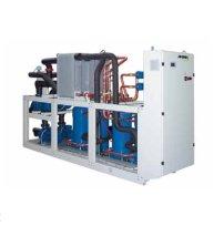 Холодильные машины с водяным охлаждением, тепловые насосы и компрессорно-испарительные агрегаты от 119 до 419 кВт