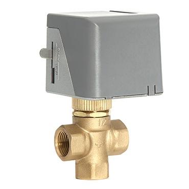 CV-312/220 3-х ходовой клапан с электроприводом 1/2