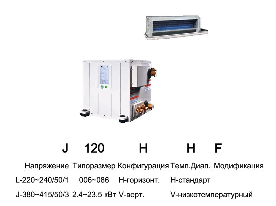 Тепловой насос Вода-воздух Split MSR-L006H-SPI/MSR-L006H-SPE