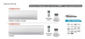 Инверторная сплит-система Стандарт CS-UE18RKD/CU-UE18RKD