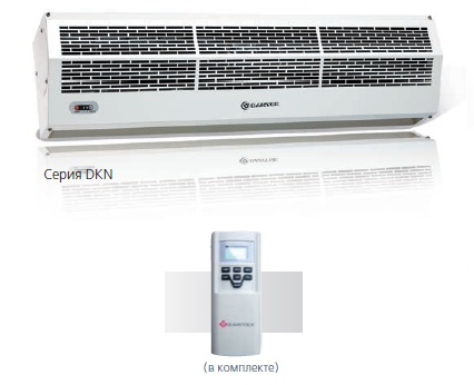 Электрическая тепловая завеса RZ-0609 DKN-3
