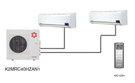 Kentatsu K2MRC40HZAN1/KMGJ20HZAN1(2)