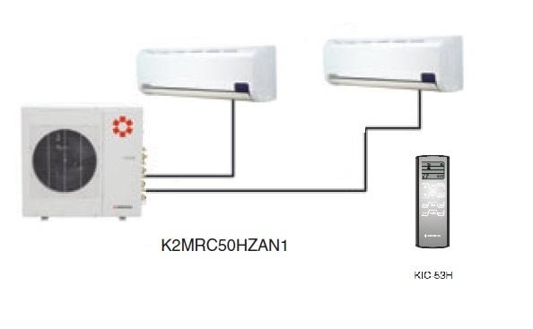 Kentatsu K2MRC50HZAN1/KMGJ20HZAN1/KMGJ25HZAN1