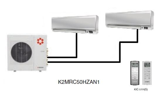 Kentatsu K2MRC50HZAN1/KMGC25HZAN1(2)