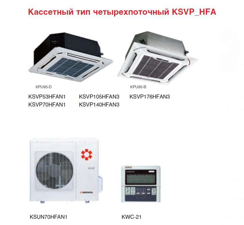Kentatsu KSVP53HFAN1/KPU95-D/KSUN53HFAN1